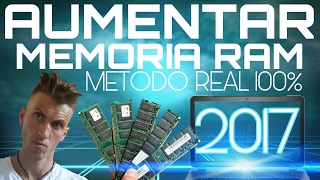 AUMENTAR MEMORIA RAM en PC SIN MENTIRAS | WINDOWS 10 | 7 | 8.1 | 8 | VISTA y XP