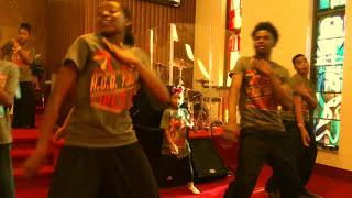 KIRK FRANKLIN  - 1, 2, 3 VICTORY  -   PRAISE DANCE