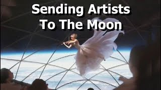 Sending Artists To The Moon With SpaceX
