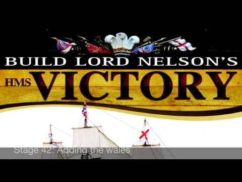 Official HMS Victory Build Diary - Pack 5, Stages 41-42