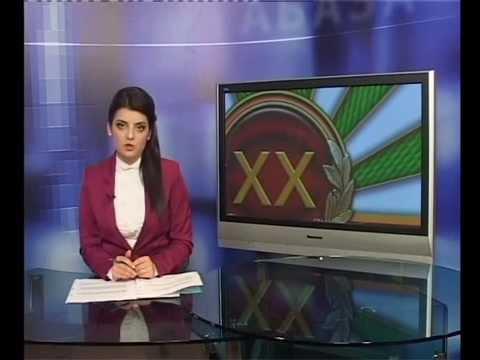 Выпуск новостей на русском языке абхазской частной телекомпании ABAZA TV от 27 сент. 2013 г.
