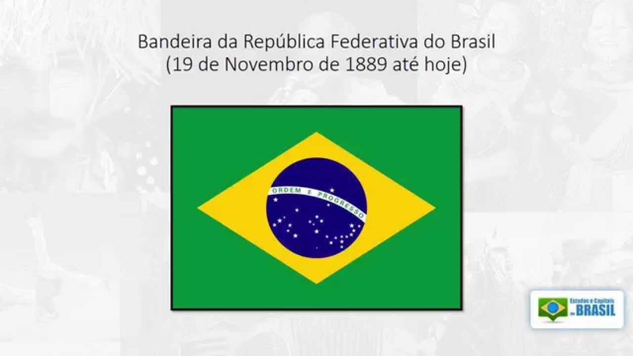 A Primeira Bandeira Do Brasil Republica bandeiras do brasil – estados e capitais do brasil