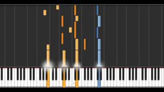 Open Arms - Synthesia (50% Speed)