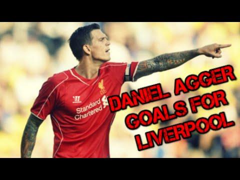 DANIEL AGGER - Goals for Liverpool