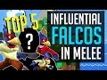 Melee Top 5 - Most Influential Falco Mains Of All Time | SSBM