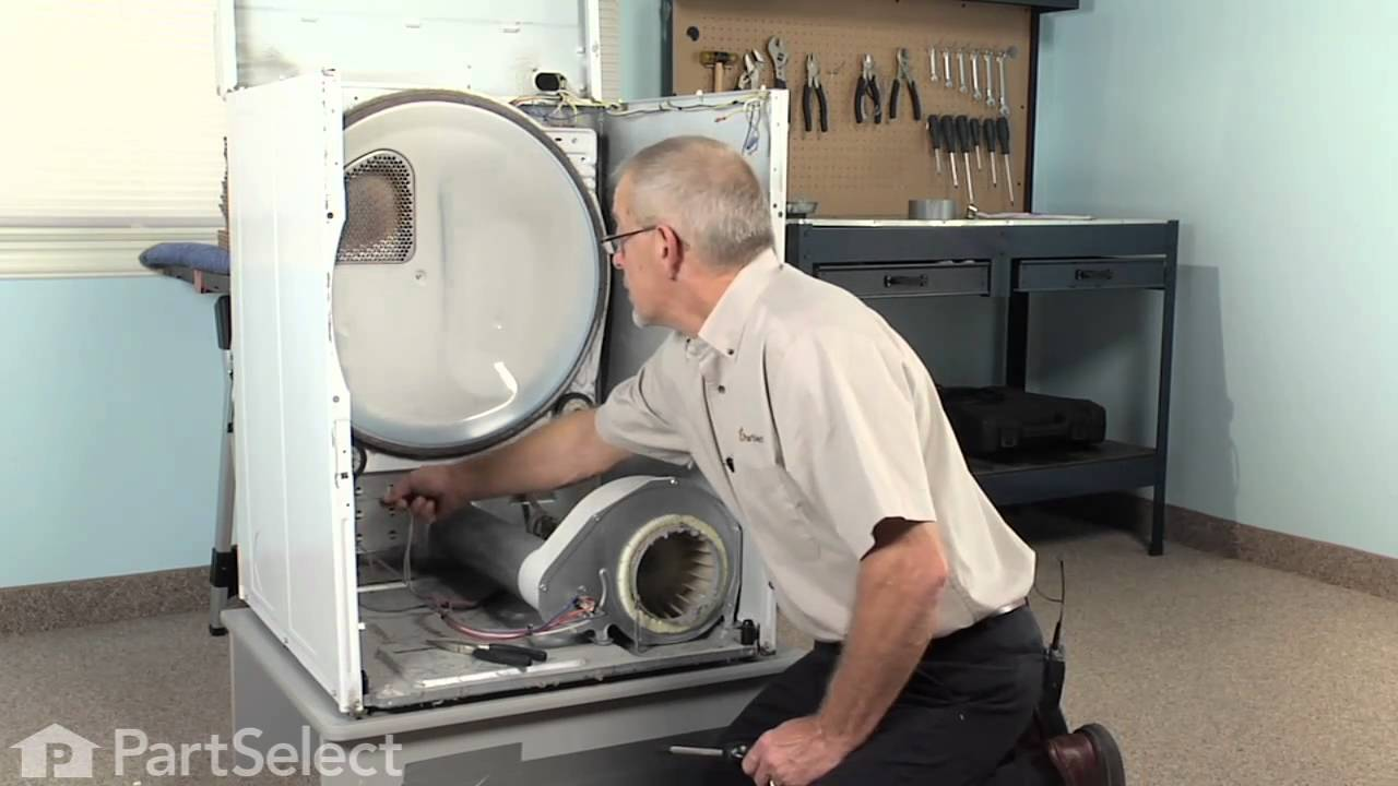 Dryer Repair - Replacing the High Limit Thermal Fuse (Whirlpool Part on admiral electric dryer timer, sears dryer schematic, frigidaire elec dryer schematic, whirlpool dryer electrical schematic, roper dryer schematic, admiral electric dryer manual, admiral model aed4475tq1 parts,