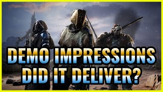 Outriders | Demo Impressions, D๐es the Hype Stand? + Amazing Tribute to Anthem fans by PCF