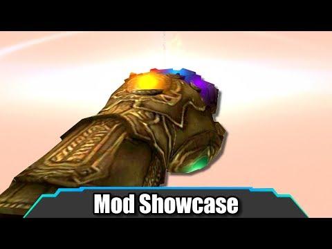 Garry's Mod | AMAZING Infinity Gauntlet SWEP Destroys Everything! | Mod Showcase