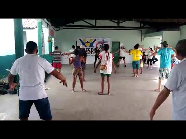 curso de dança no colégio abrigo da pastoral de rua