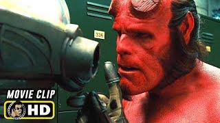 HELLBOY II (2008) Hellboy Vs. Johann Krauss [HD] Ron Perlman