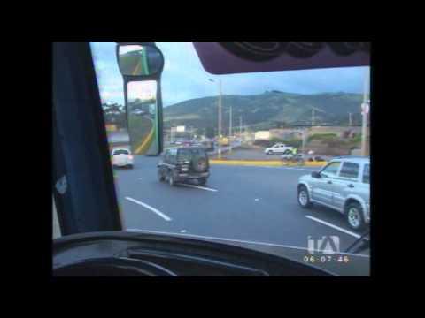 Hicimos el recorrido en bus desde Quito hasta el Nuevo Aeropuerto