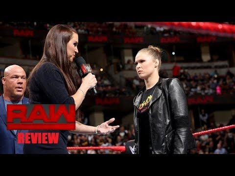 WWE Raw 2/26/18 Review FALSE ADVERTISING (BROCK NO SHOWS)