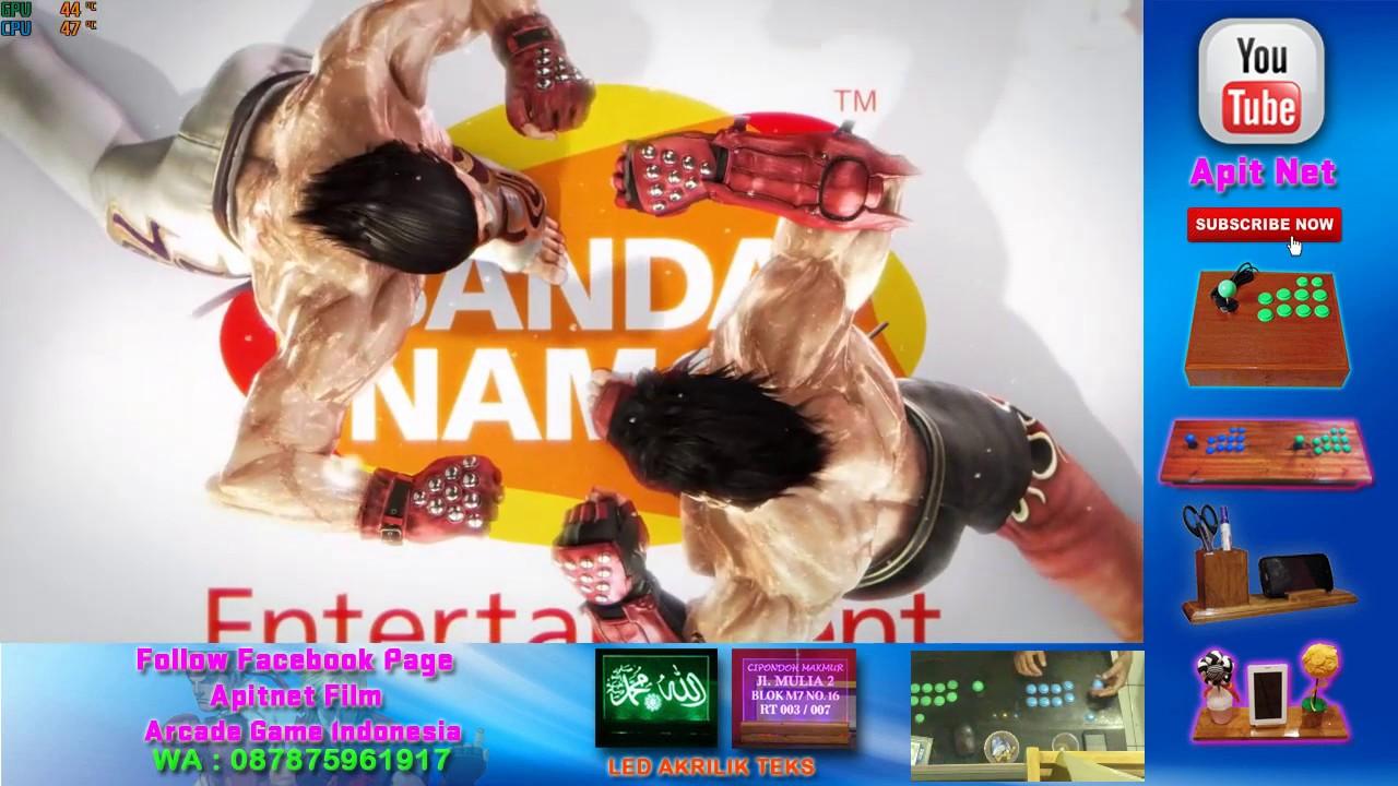 Tutorial menggunakan X360CE untuk Tekken 7 pada arcade joystick