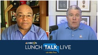 Peter King on how NFL teams are preparing for unique 2020 NFL Draft | Lunch Talk Live | NBC Sports