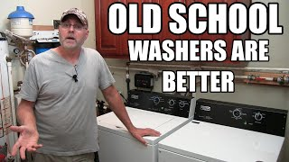 Old school washers are better - Why we bought Maytag commercial
