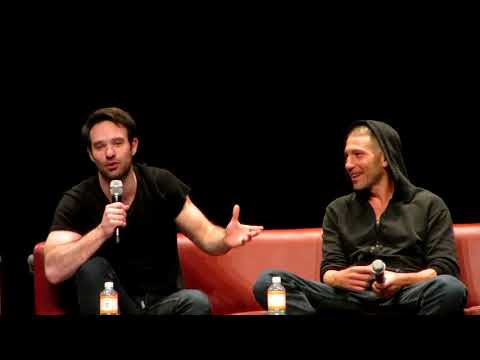 Charlie Cox and Jon Bernthal  Daredevil and Punisher  Funniest Story