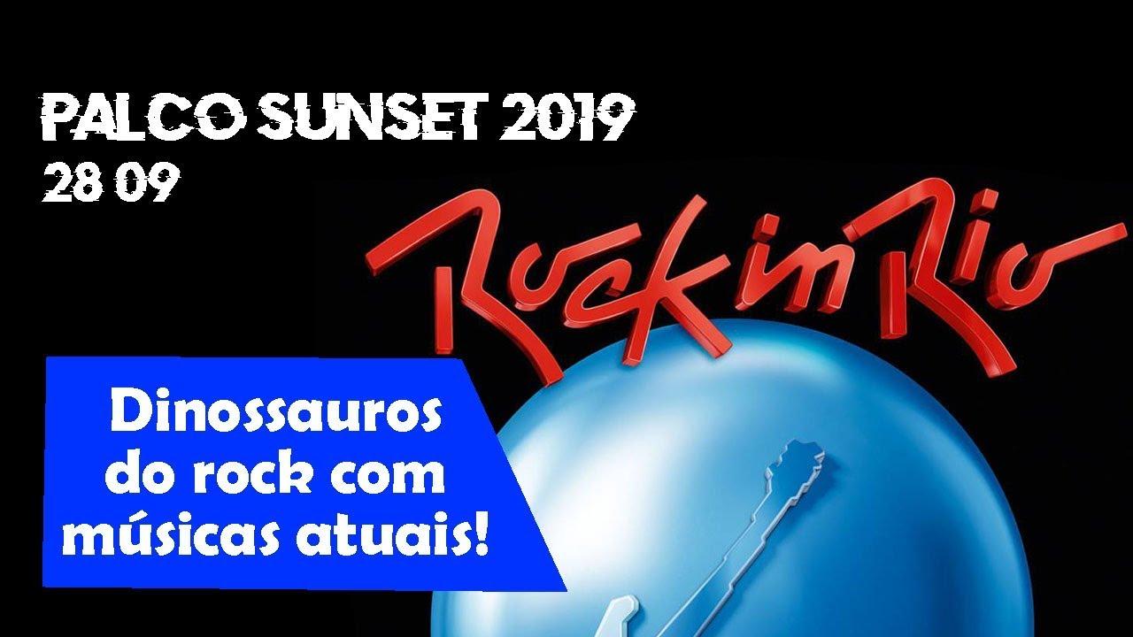 28/09 - Conheças as bandas que estarão no PALCO SUNSET do Rock in Rio