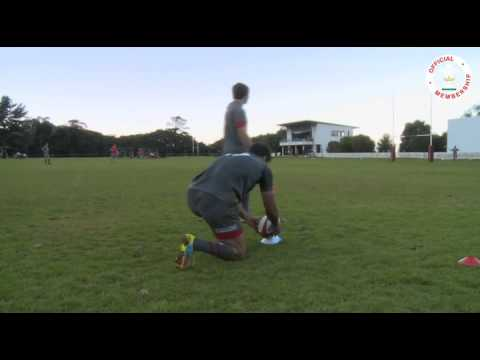 Wales Scrum Half Goal Kicking Challenge | WRU TV