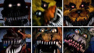 Watch Your Nightmare - All Jumpscares!