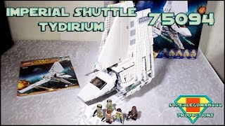 Lego Star Wars 75094 Imperial Shuttle Tydirium Review