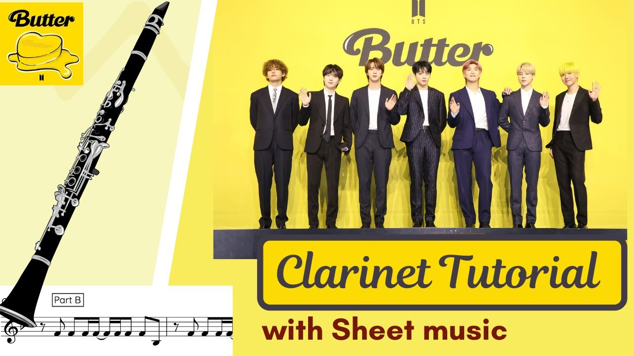 Butter (BTS) on CLARINET
