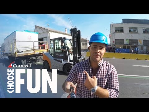 Carnival Vista: Behind the Scenes | Episode 5 | Sunsets & Silver Screens