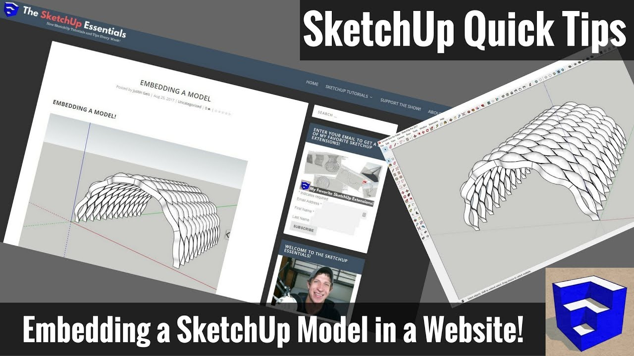 Embed Sketchup Models In A Web Page