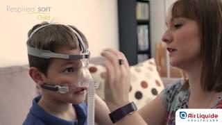 Guide de mise en place et d'utilisation du masque Respireo SOFT CHILD