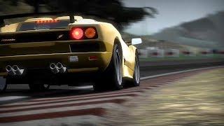 Need For Speed - Shift PC Gameplay - 1997 Lamborghini Diablo (MOD) at Spa GP