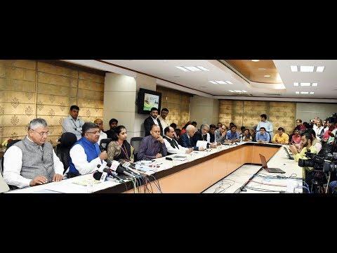 Union Minister Ravi Shankar Prasad speaks on digitalization and employment in rural areas
