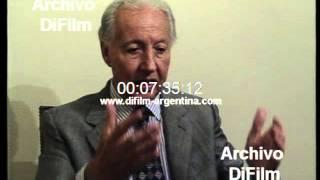 DiFilm - Testimonio Italo Argentino Luder Política de 1976 (1996)