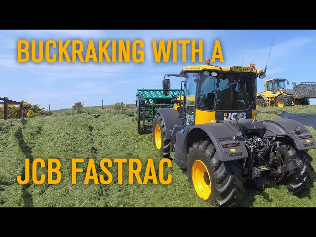 Buckraking with a JCB Fastrac!
