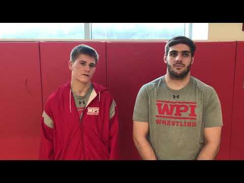WPI Wrestling Post-Match Interview - Tyler Marsh and Austin Shrewsbury