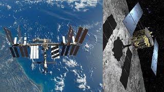 LIVE ISS Stream And Japanese Jaxa Hayabusa 2 Asteroid Probe Touchdown Coverage