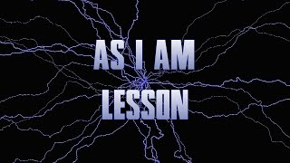 As I Am lesson - DT