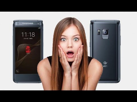 iPhone X rival-Samsung to make a new flip phone (w2018) with camera f/1.5