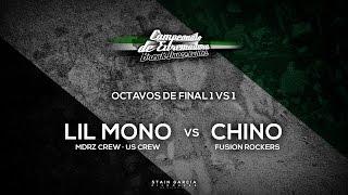 Lil Mono [Mdrz Crew · UsCrew] vs Chino [Fusion Rockers] · Octavos 1 vs 1 · Cto Extremadura 2015