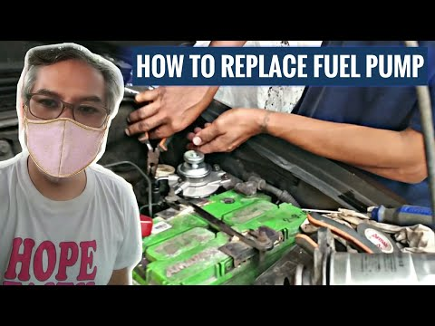 How To Replace Fuel Pump & Filter | Mitsubishi Adventure | Diesel Car