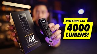 Yes They Finally Did It... 4000 lumens In A Thumb Sized Light! - T4K First Look screenshot 1