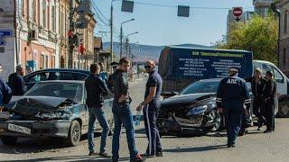 Жесткое ДТП с пострадавшими, произошло 9 мая на перекрестке улиц Мира и Вейнбаума