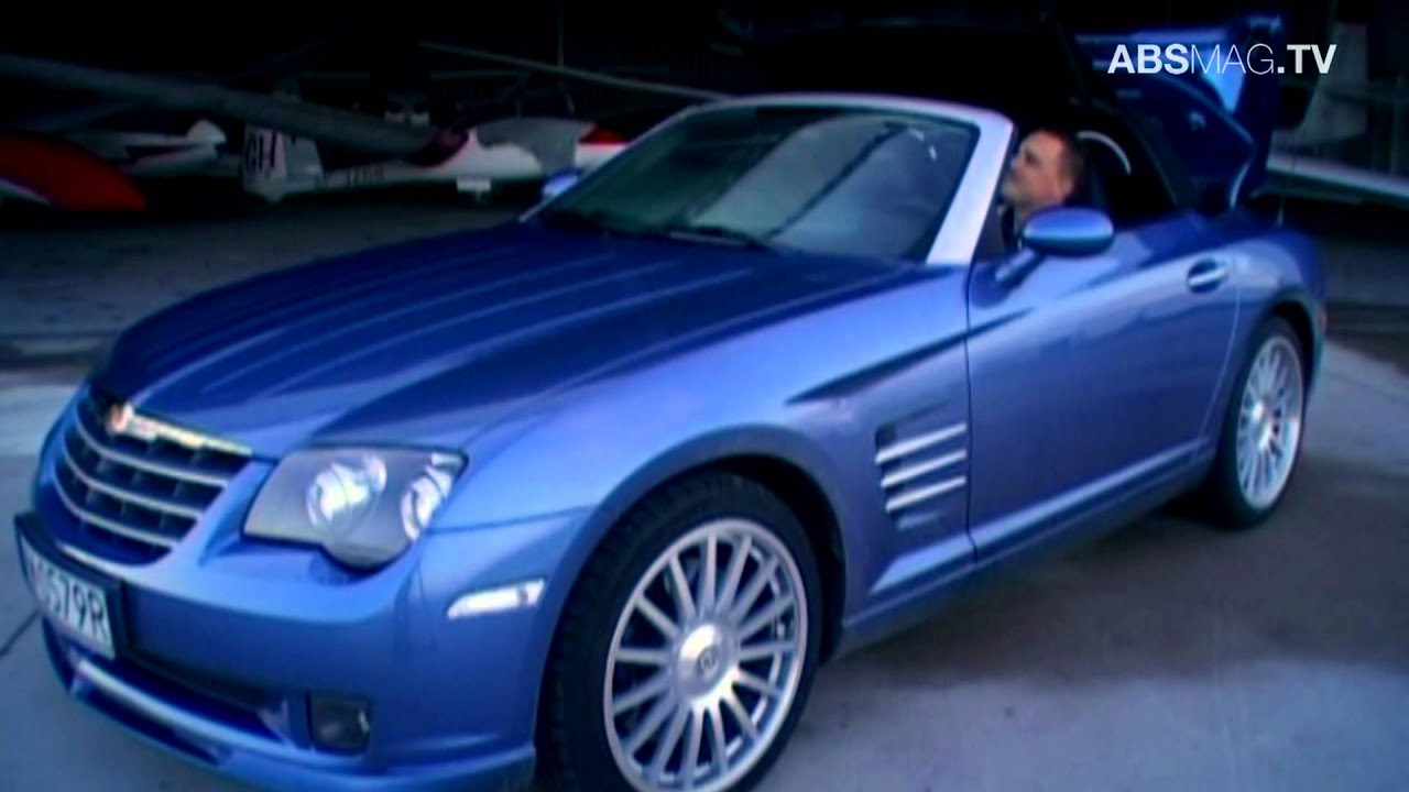 Chrysler crossfire srt6 roadster 2007 absmag tv youtube