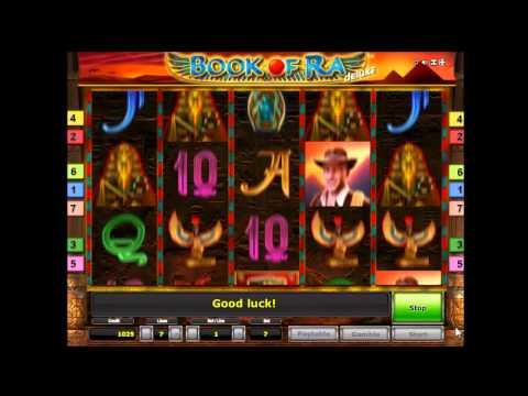 Видео Игровой автомат book of ra бесплатно онлайн