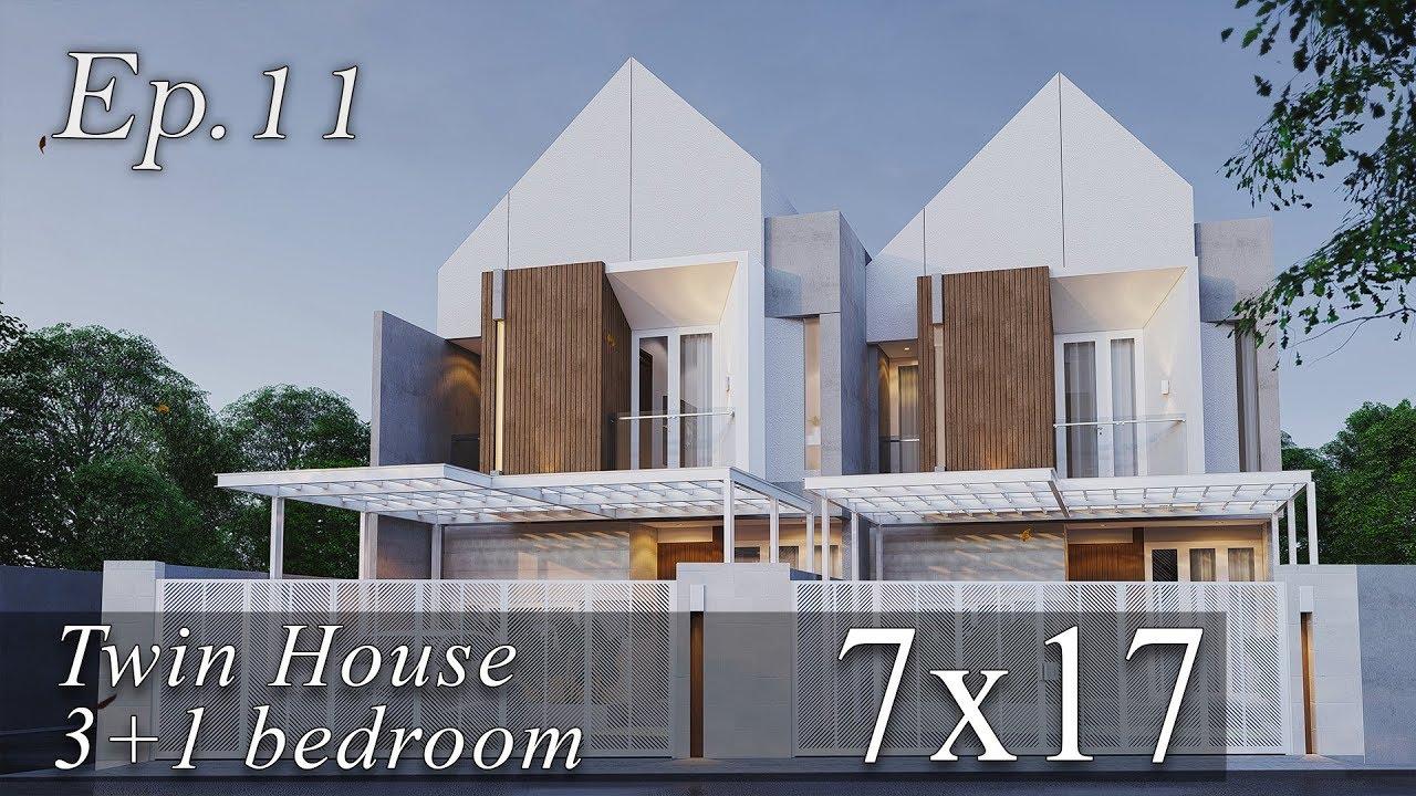 Contoh Desain Rumah Minimalis Tanah 7x17 Cek Bahan Bangunan