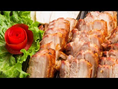 Cách làm món thịt ba chỉ rán ngũ vị hương |  Món ngon dễ làm