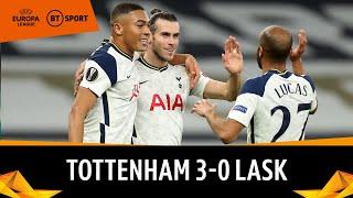 Tottenham v LASK (3-0) | Europa League Highlights