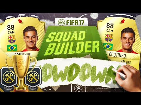 🔥 THE SQUAD BUILDER SHOWDOWN CUP!! 🏆 NEYMAR REPLACEMENT!? - FIFA 17 ULTIMATE TEAM