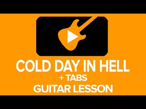 Andy's Lab - Gary Moore - Cold Day In Hell Guitar Lesson