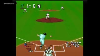 World Class Baseball (Power League, All Star Gold) - Turbografx-16 / PC Engine - VGDB