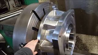 Reviving a part from 1972---Large Machining