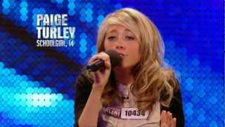 Paige Turley Skinny Love - Britain's Got Talent 2012 audition - International version
